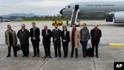 Делегация Колумбии прибыла в Осло