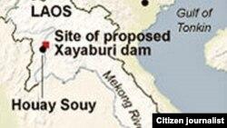 Địa điểm của dự án đập Xayaburi