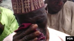 Iyayen dalibai mata wadanda aka sace a Cibok, dake Jihar Borno.