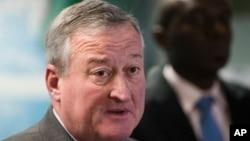 """費城市長肯尼迪稱聯邦法官有關川普行政當局不得為聯邦撥款設置新條件的裁決是""""全面勝利"""""""