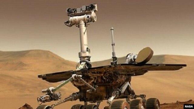 "Marsovski rover ""Kjuriositi"""