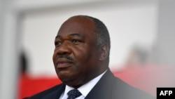 Ali Bongo à Libreville le 5 février 2017.