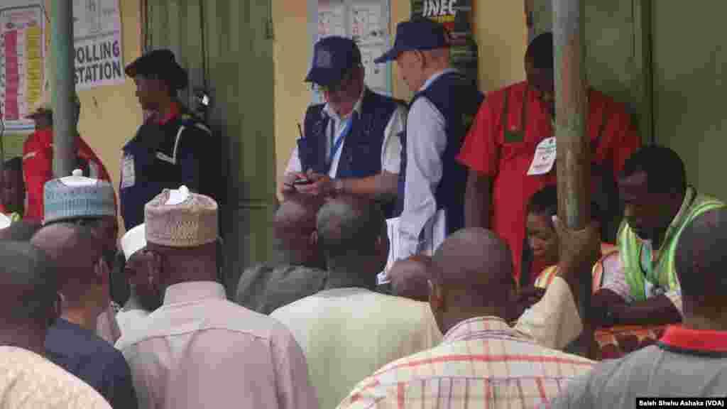ZABEN2015; Masu Sa Ido Daga Tarayyar Turai a Abuja
