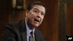 James Comey dipecat dari jabatannya sebagai kepala Dinas Penyidikan Federal (FBI) hari Selasa (9/5).