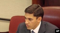 USAID Administrator Rajiv Shah (file photo)