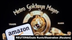 ILUSTRACIJA - Logotipi Amazona i Metro – Goldvin – Majera (REUTERS/Dado Ruvic)