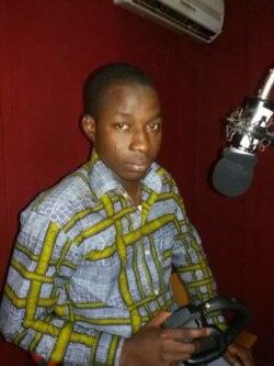 Albert Nagréogo, rédacteur en chef de Radio Omega