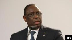 Le président du Sénégal Macky Sall, 12 novembre 2015