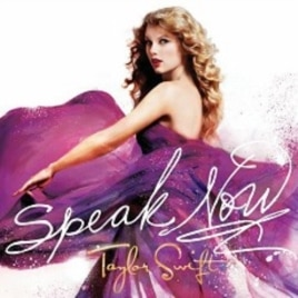 Taylor Swift's 'Speak Now' CD