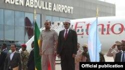 Madaxweyne Maxamed Cabdullahi Farmajo iyo Ra'isulwasaare Abiy Ahmed