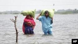 巴基斯坦近日洪水氾濫