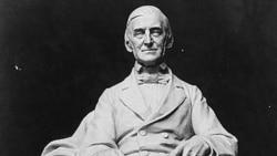 Statue of Ralph Waldo Emerson