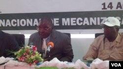Angola coordenador provincial da acção contra minas Malanje, Manuel Campos