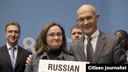 На церемонии принятия России в ВТО