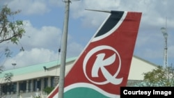 Ndege ya shirika la ndege Kenya Airways