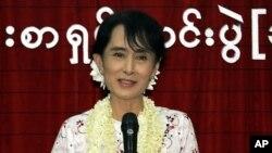 미얀마 민주화운동 지도자 아웅산 수치 여사(자료사진)