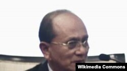 Prime Minister of Burma Thein Sein.