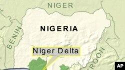 Taswirar yankin Niger-Delta a kudancin Najeriya