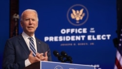 ေရြးေကာက္ခံသမၼတ Biden က အစိုးရအဖြဲ႔ဝင္ အမည္စာရင္း ထုတ္ျပန္ဖို႔ ျပင္ဆင္