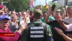 Chính phủ Venezuela 'đối phó đảo chính'