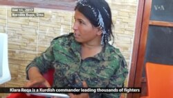 Female Commander Leads Anti-IS Fighters in Hometown Raqqa