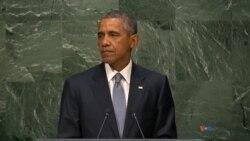 Shugaba Barack Obama a Majalisar Dinkin Duniya