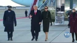 Дональд Трамп відлетів до Флориди: найголовніше з прощальної церемонії. Відео
