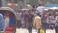 2018-08-06 美國之音視頻新聞: 孟加拉攝影師因在網上刊登抗議活動消息而被拘捕