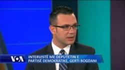 Intervistë me deputetin Gerti Bogdani