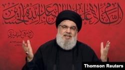 سیدحسن نصرالله دبیرکل حزب الله لبنان - آرشیو
