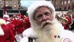 ဒိန္းမတ္မွာစုေ၀းၾကတဲ့ Santa Claus မ်ား