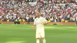 Real Madrid : présentation officielle d'Eden Hazard