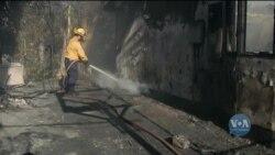 Наскільки швидко у Каліфорнії поширюються лісові пожежі. Відео