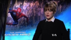 Extended Interview: 'Amazing Spiderman' Leading Lady Emma Stone Talks to VOA