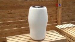 Urna tecnológica biodegrdable