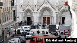 Bazilika Notr dam u Nici u kojoj se dogodio napad