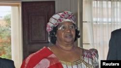 Malawi President Joyce Banda (file photo)