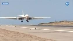 Rusya Venezuela'ya Bombardıman Uçağı Gönderdi