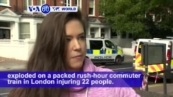VOA60 World PM - Police Hunt London Attackers