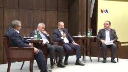 «Մենք ցանկանում ենք, որ արտահանելի ճյուղերը զարգանան»․ վարչապետը Ծաղկաձորում հանդիպել է գործարարների հետ