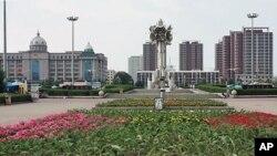 중국 연변자치주 연길 시 청사 (자료사진)