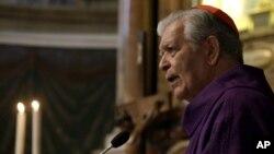 """El cardenal Jorge Urosa consideró que el diálogo entre el gobierno de Venezuela y la oposición fue muy """"flojo"""" y que no se resolvieron los problemas fundamentales. Lamentó los """"injustos ataques"""" de Diosdado Cabello contra la Iglesia católica."""