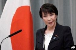 Sanae Takaichi, 11 September 2019.