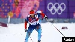 Vận động viên trượt tuyết việt dã Nga Alexey Petukhov (ảnh tư liệu ngày 11/2/2014)