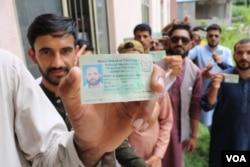 الیکشن کمیشن کے مطابق ووٹ پول ہونے کی شرح 58 فی صد رہی۔