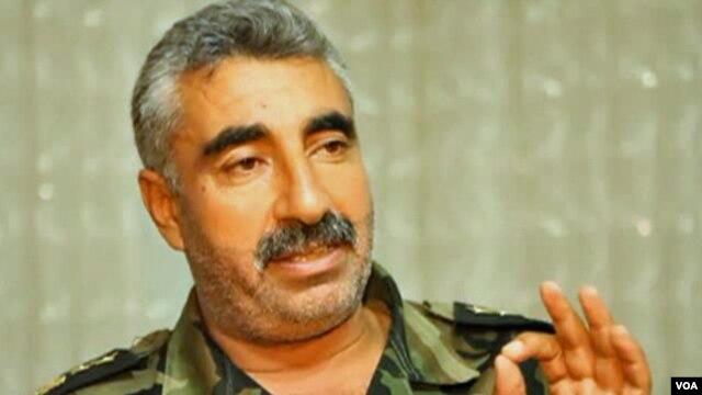 Free Syrian Army Deputy Commander Colonel Malik al-Kurdi