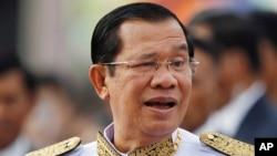 Thủ tướng Campuchia Hun Sen, người được cho là sẽ nắm quyền lực trong nhiều năm tới sau khi có phán quyết của tòa án ngày 16/11/2017.