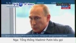 TT Vladimir Putin kêu gọi trả tự do cho binh lính Ukraine (VOA60)