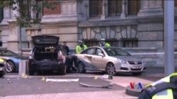 2017-10-08 美國之音視頻新聞: 英國警方說週六汽車事故與恐襲無關 (粵語)