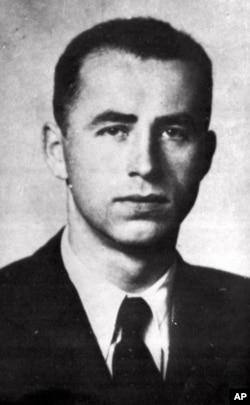 Alois Brunner, a top aide to Adolf Eichmann, is shown in an undated handout photo supplied by Nazi-hunter Serge Klarsfeld